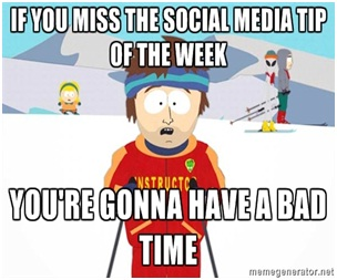 social media tip of the week