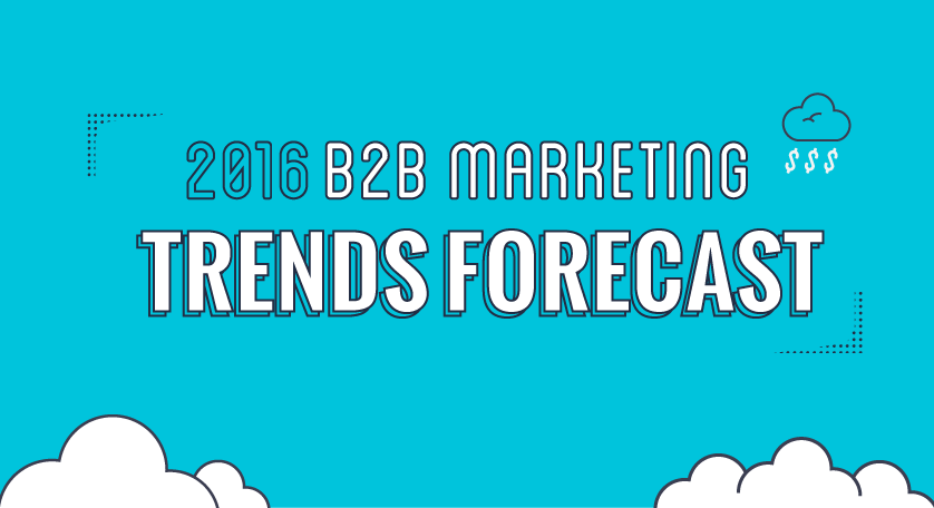 Infographic: Biggest Trends in B2B Content Marketing in 2016