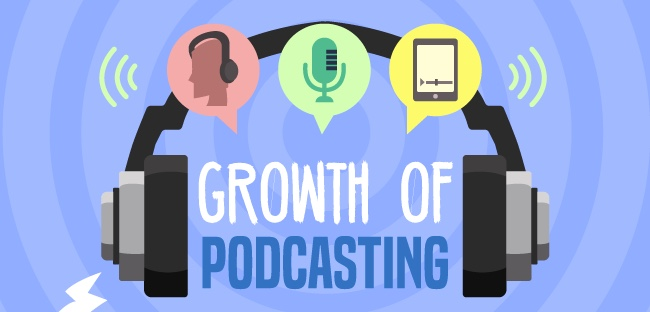 The astronomical rise of podcasting [Infographic]