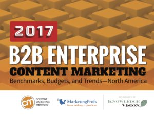 Content Marketing in B2B Enterprises: Results from the Latest Research [Content Marketing Podcast 224]